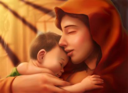 母爱是一张护身符